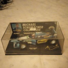 Coches a escala: BENETTON RENAULT B 195 MICHAEL SCHUMACHER COLLECTION, WINNER GP BRASIL 1995. Lote 156554470