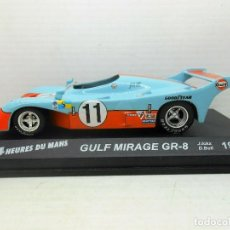 Auto in scala: 2378 COCHE GULF MIRAGE GR8 ICKX BELL 24 HEURES DU MANS CAR 1/43 1:43 GOOD YEAR. Lote 156861294