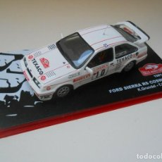 Coches a escala: 2566 COCHE FORD SIERRA RS COSWORTH RALLY MONTE CARLO 1:43 GRUNDEL HARRYMAN 1/43 . Lote 157255122