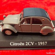 Coches a escala: CITROEN 2CV 1957 MATRICULA FRANCESA ALTAYA IXO 1/43. Lote 159712434