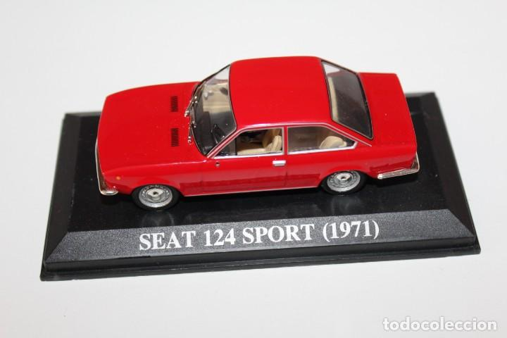 COCHE CLASICO SEAT 124 SPORT - 1971 - ALTAYA ESCALA 1/43 (Juguetes - Coches a Escala 1:43 Otras Marcas)