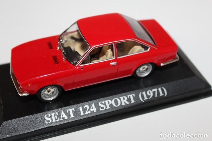 Coches a escala: COCHE CLASICO SEAT 124 SPORT - 1971 - ALTAYA ESCALA 1/43 - Foto 5 - 159960878