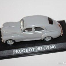 Coches a escala: COCHE CLASICO PEUGEOT 203 - 1960 - ALTAYA ESCALA 1/43. Lote 159962342