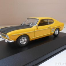 Voitures à l'échelle: 2618 COCHE FORD CAPRI SOLIDO CAR 1:43 MINIATURE MADE IN FRANCE MODEL 1/43 ALFREEDOM. Lote 160839154