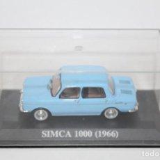 Coches a escala: COCHE CLASICO SIMCA 1000 ( 1966) - ALTAYA ESCALA 1/43. Lote 160860946