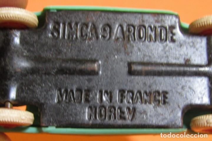 Coches a escala: NOREV SIMCA 9 ARONDE MADE IN FRANCE ARTICULO ORIGINAL - Foto 8 - 161411630