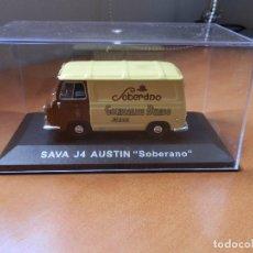Model Cars - SAVA J4 AUSTIN. Soberano. Furgonetas de Antaño Altaya. En su caja expositora original. - 161671646