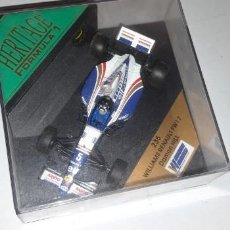 Coches a escala: HERITAGE FORMULA 1 ONYX 235 WILLIAMS RENAULT FW 17 DAMON HILL MINT BOXED 1:43. Lote 162013074