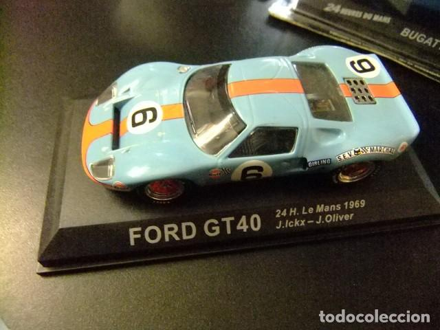 FORD GT 40 24 H LE MANS 1969 J. ICKX - J. OLIVER (Juguetes - Coches a Escala 1:43 Otras Marcas)
