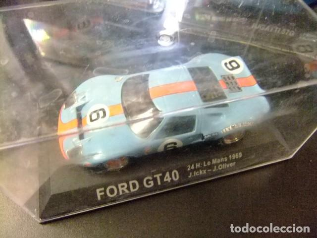 Coches a escala: FORD GT 40 24 h Le Mans 1969 J. Ickx - J. Oliver - Foto 2 - 162551782