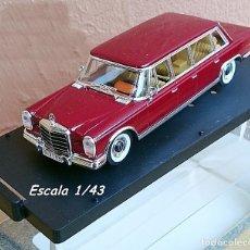 Coches a escala: VITESSE NO.033 MERCEDES 600 PULLMAN 1965. Lote 94089235