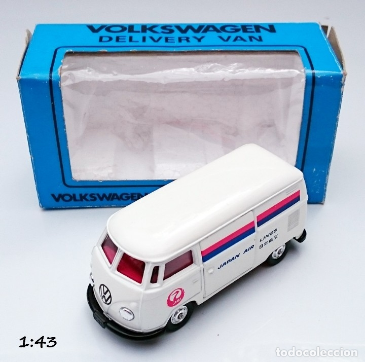 TOMICA DANDY KADO VOLKSWAGEN VW COMBI JAPAN AIRLINES (Juguetes - Coches a Escala 1:43 Otras Marcas)