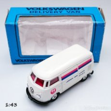 Coches a escala: TOMICA DANDY KADO VOLKSWAGEN VW COMBI JAPAN AIRLINES. Lote 93917625
