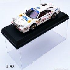 Coches a escala: BEST MODEL DIECAST FERRARI 308 GTB ZANINI AUTET RALLY VASCO NAVARRO 1984. Lote 56633144
