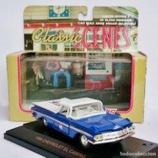 Coches a escala: ROAD CHAMPS 1959 CHEVROLET EL CAMINO EDICIÓN PEPSI COLA - SERIE LIMITADA. Lote 92201015