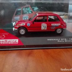 Coches a escala - RENAULT 5 TS RALLY SHALYMAR 1980 CARLOS SAINZ COLLECTION - 163426694