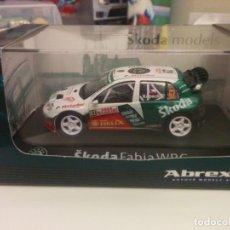 Coches a escala: SKODA FABIA WRC RALLY MONTE CARLO. Lote 163437278