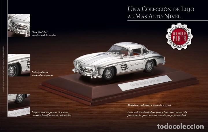 Coches a escala: BUGATTI 57SC COUPE ATLANTIC metal. Bañado en plata - 1/43 - Colección JOYAS DEL AUTOMOVIL-ALTAYA-IXO - Foto 8 - 163493358