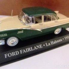 Coches a escala: FORD FAIRLANE TAXI LA HABANA CUBA 1956. Lote 163775246