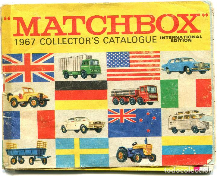 MATCHBOX, CATALOGO 1967, CON SEÑALES Y MARCAS DE USO (Juguetes - Coches a Escala 1:43 Otras Marcas)