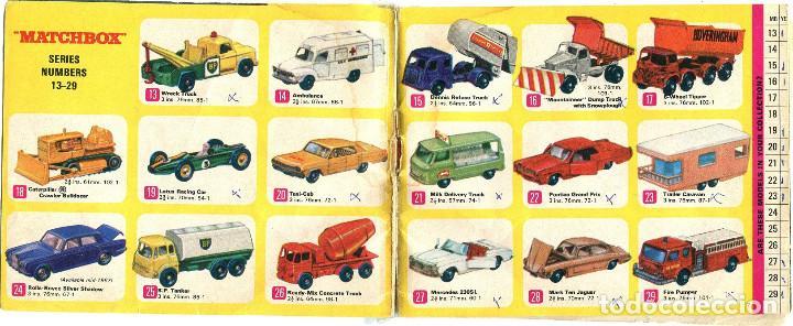 Coches a escala: MATCHBOX, CATALOGO 1967, CON SEÑALES Y MARCAS DE USO - Foto 2 - 164569138