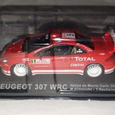 Coches a escala: 1:43 PEUGEOT 307 WRC WORLD RALLYE CAR RALLYE DE MONTECARLO 2004 IXO ?. Lote 164756072