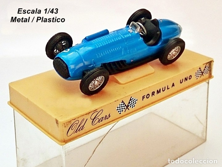 OLD CARS / SERIE FORMULA 1 / TALBOT LAGO 4.5 LT - 1949 - N 3 (Juguetes - Coches a Escala 1:43 Otras Marcas)