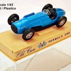 Coches a escala: OLD CARS / SERIE FORMULA 1 / TALBOT LAGO 4.5 LT - 1949 - N 3. Lote 93631620