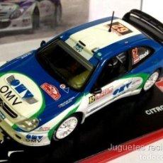 Auto in scala: CITROEN XSARA WRC STOHL 2005 RALLY MONTECARLO 1:43 IXO ALTAYA DIECAST. Lote 208665208