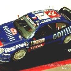 Coches a escala: CITROEN XSARA WRC LOEB 2006 RALLY MONTECARLO 1:43 IXO ALTAYA DIECAST. Lote 165279017
