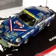 Coches a escala: ALPINE RENAULT A110 1600 MOUTON 1976 RALLY MONTECARLO 1:43 ALTAYA DIECAST. Lote 165279029