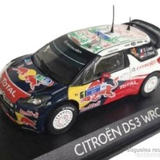 Coches a escala: CITROEN DS3 WRC LOEB 2011 RALLY MEXICO 1:43 NOREV DIECAST. Lote 165279594