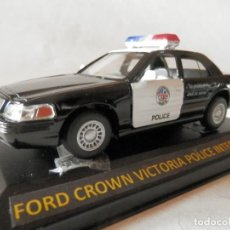 Coches a escala: FORD CROWN VICTORIA POLICE INTERCEPTAR 1964-KINSMART-1/43-LUGOY. Lote 165511046