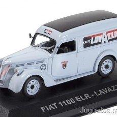Coches a escala - Fiat 1100 ELR Lavazza 1950 1:43 Ixo Altaya VAN Furgoneta - 165899666