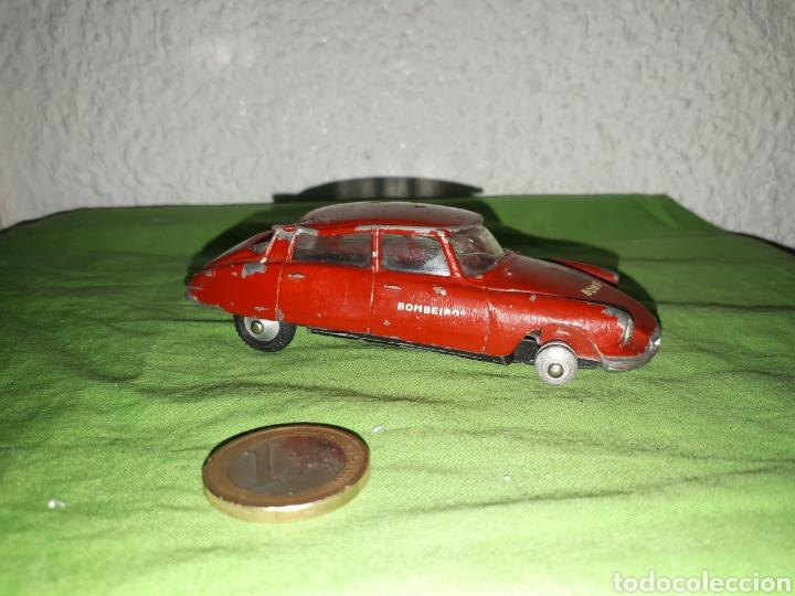 Coches a escala: Antiguo coche citroen ds 19 METOSUL PORTUGAL BOMBEIROS PARA RESTAURAR - Foto 2 - 165682981