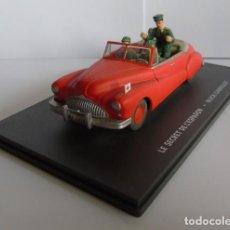 Carros em escala: BLAKE Y MORTIMER - EL SECRETO DEL ESPADON - COCHE BUICK. Lote 166282702