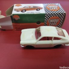 Coches a escala: CHIQUI CARS DE NACORAL E:1/43 SEAT 850 COUPE. Lote 166499682