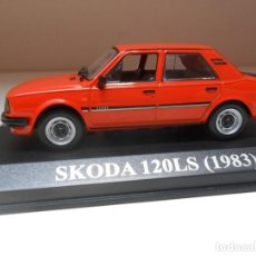 Coches a escala: 2700 COCHE SKODA 120LS 120 LS 1983 IXO MODEL CAR 1/43 1:43 MINIATURE ALFREEDOM. Lote 180035905