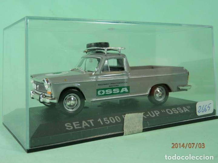 Coches a escala: SEAT 1500 PICK UP OSSA 1968-ALTAYA-1/43-LUGOY - Foto 2 - 166818854