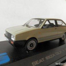 Coches a escala: SEAT IBIZA GLX 1984-ALTAYA-1/43-LUGOY. Lote 166918312