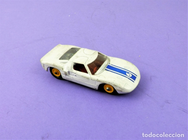 Coches a escala: Matchbox Lesney Ford GT conjunto G4 Race´n Rally - Foto 2 - 167006044