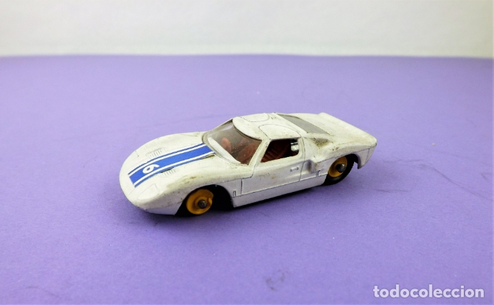 Coches a escala: Matchbox Lesney Ford GT conjunto G4 Race´n Rally - Foto 3 - 167006044
