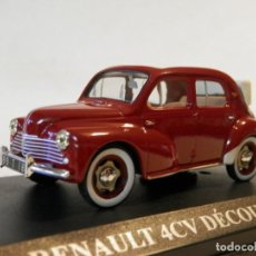 Coches a escala - RENAULT 4-4 DECOVRABLE 1952--ALTAYA- -1/43-LUGOY - 167728896