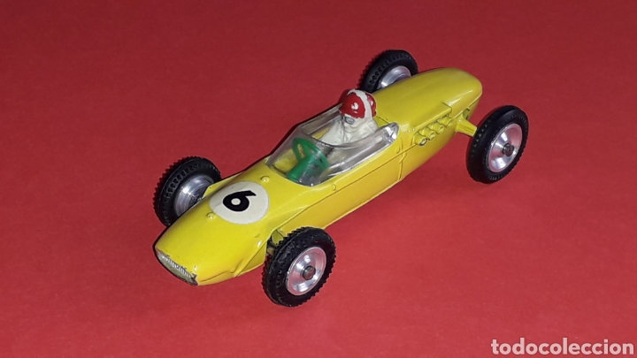 Coches a escala: Lotus F-1 ref. 11, metal, esc. 1/43, Dalia Solido made in Spain, original años 60. - Foto 3 - 167759112