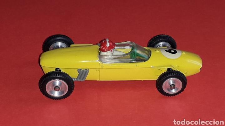Coches a escala: Lotus F-1 ref. 11, metal, esc. 1/43, Dalia Solido made in Spain, original años 60. - Foto 7 - 167759112