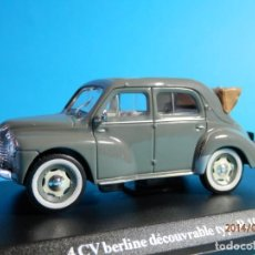 Coches a escala - RENAULT 4-4 BERLINE DECOUVRABLE 1953-1/43-LUGOY - 167835060