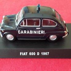 Coches a escala: SEAT/FIAT 1:43 CARABINIERI. ITALIA.. Lote 167833476