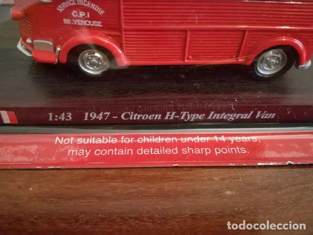 Coches a escala: Camion De Bomberos Del Prado NUEVO Camion de Bomberos. Escala 1:43. 1947- Citroen H-type integral V - Foto 9 - 167874968