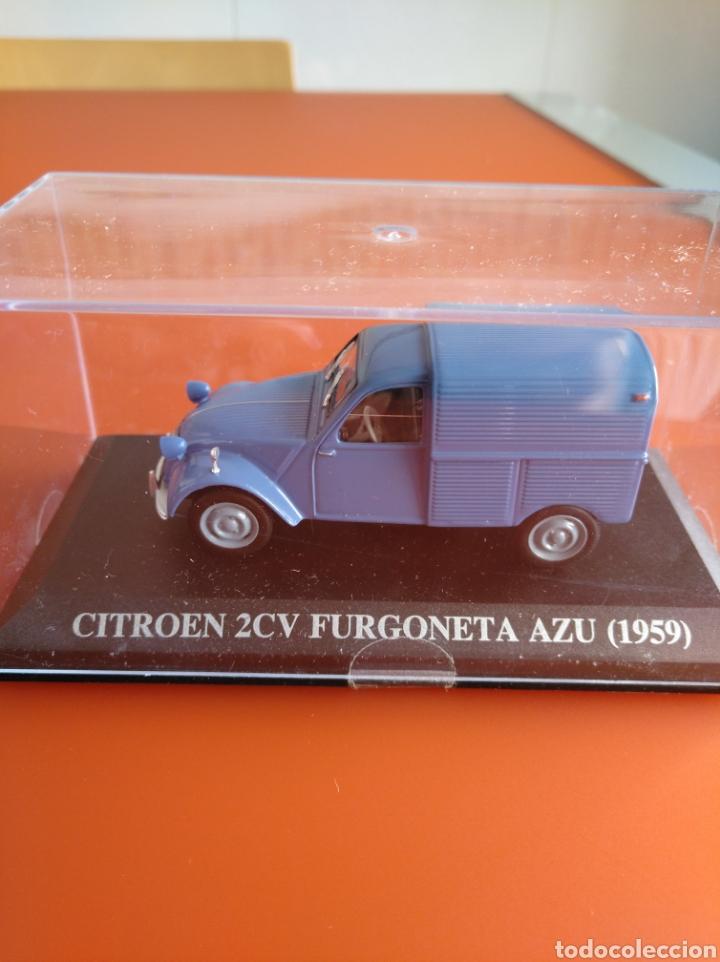 CITROEN 2CV FURGONETA, COLECCION COCHES CLASICOS DE ALTAYA, 1/43. (Juguetes - Coches a Escala 1:43 Otras Marcas)