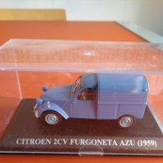 Coches a escala: CITROEN 2CV FURGONETA, COLECCION COCHES CLASICOS DE ALTAYA, 1/43.. Lote 178596578